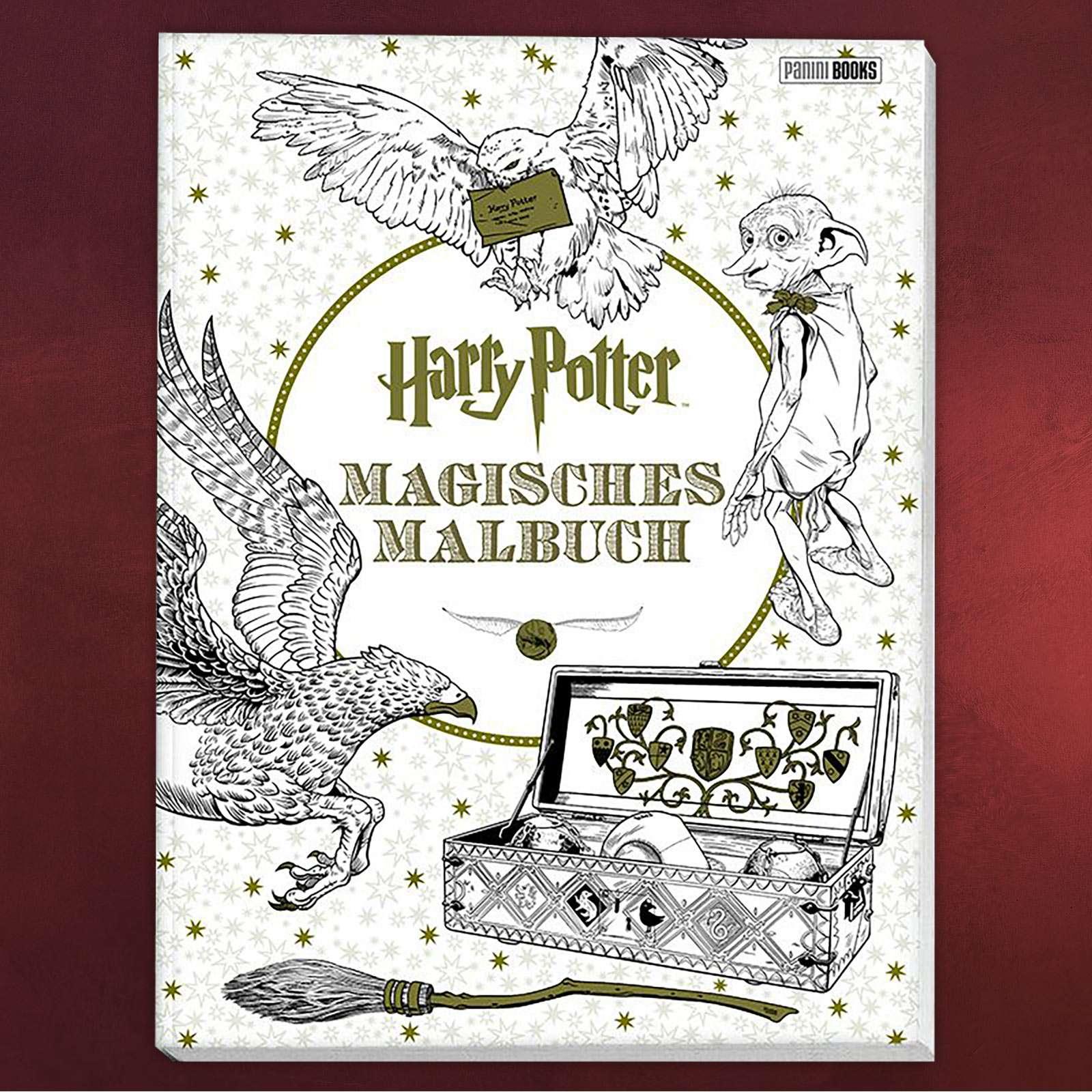 Harry Potter - Magisches Malbuch   Elbenwald