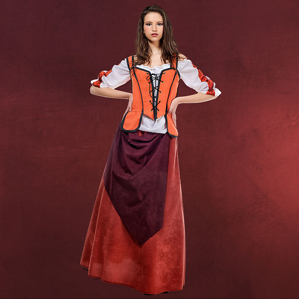 Mittelalter Wirtin Aguila - Kostüm Damen