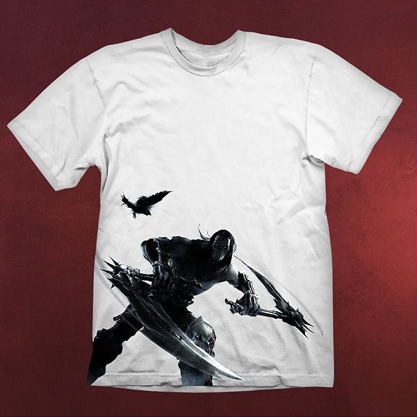 Darksiders - Keyart T-Shirt weiß