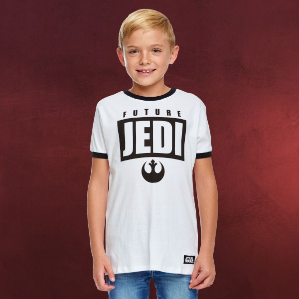 Star Wars - Future Jedi T-Shirt Kinder weiß