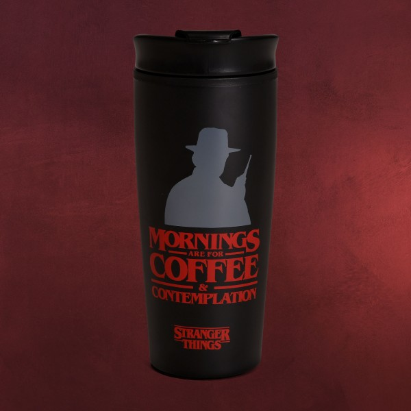 Stranger Things - Coffee & Contemplation To Go Becher