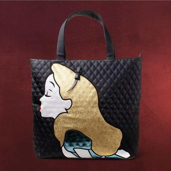 Alice im Wunderland - Glitzer Shopper Tasche