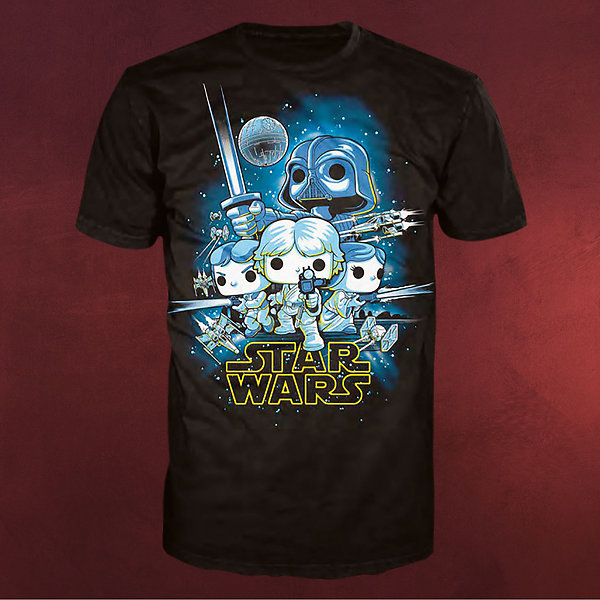 Star Wars - A New Hope Pop! T-Shirt schwarz