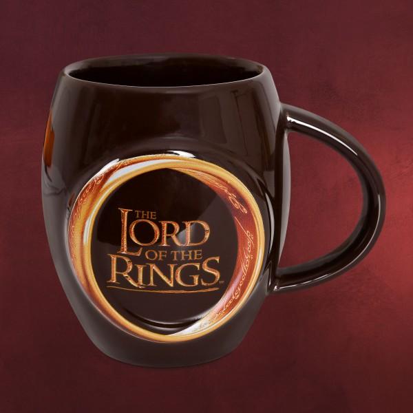 Herr der Ringe - Der Eine Ring Tasse braun