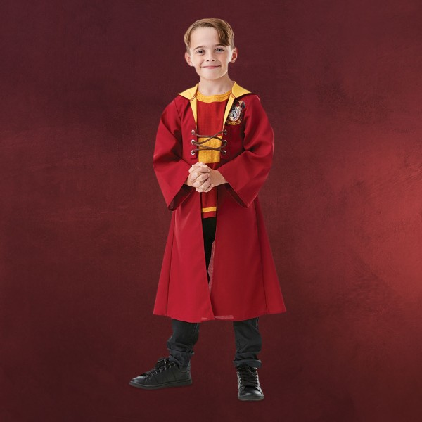 Harry Potter - Gryffindor Quidditch Robe Kinder Kostüm
