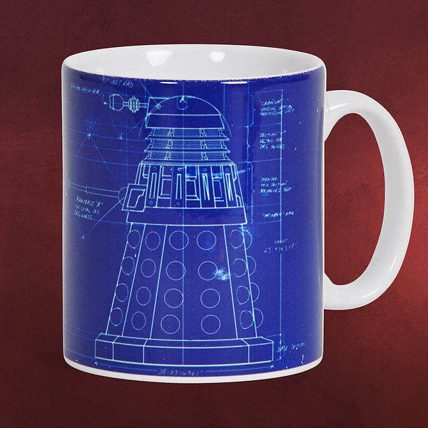 Doctor Who - Dalek Tasse