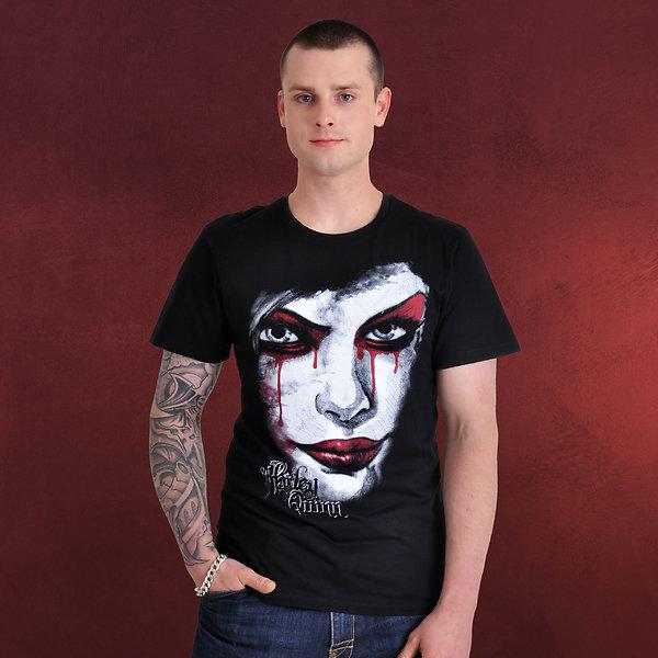Harley Quinn - Face T-Shirt schwarz
