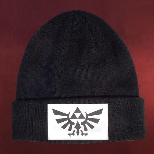 Zelda - Hyrule Logo Mütze schwarz