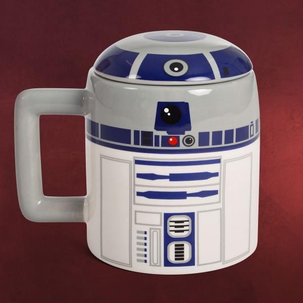 Star Wars - R2-D2 Tasse XXL mit Deckel