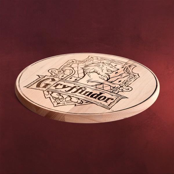Harry Potter - Gryffindor Wappen Schneidebrett Buche