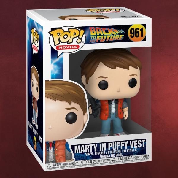 Zurück in die Zukunft - Marty in Puffy Vest Funko Pop Figur