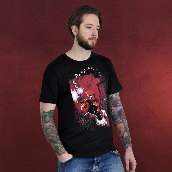 Deadpool - BÄM T-Shirt schwarz