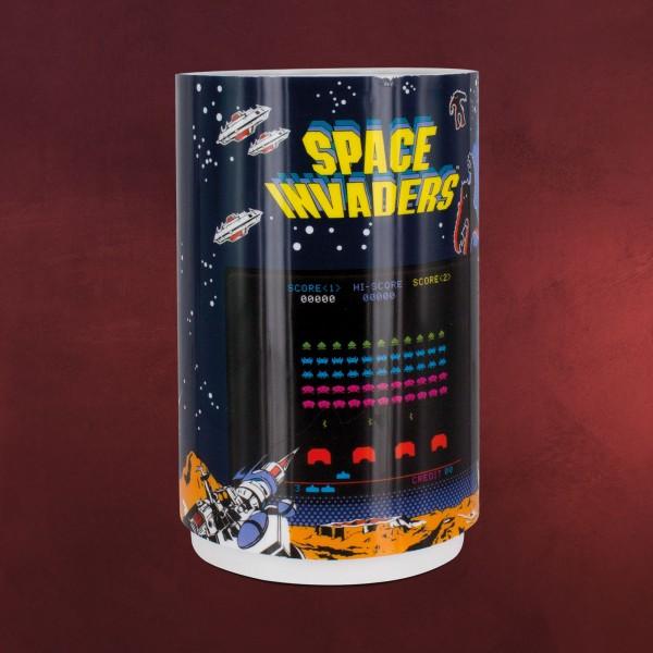 Space Invaders - Mini Tischlampe mit Projektion