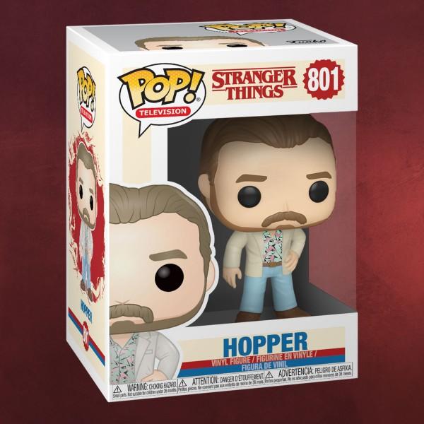 Stranger Things - Hopper Date Night Funko Pop Figur
