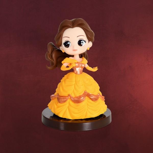 Die Schöne und das Biest - Belle mit Ballkleid Q Posket Figur 7 cm