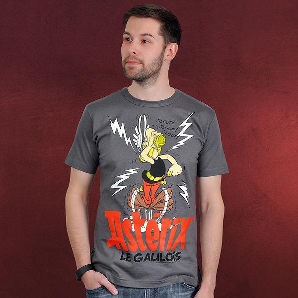 Asterix - Der Gallier T-Shirt grau