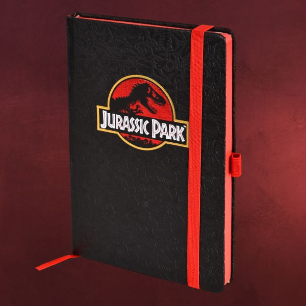 Jurassic Park - Movie Logo Premium Notizbuch A5