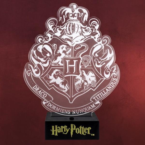 Harry Potter - Hogwarts Wappen Tischlampe