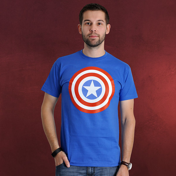Avengers - Age of Ultron - Captain America Shield T-Shirt