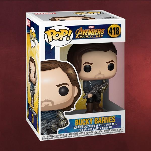 Avengers - Bucky Barnes Infinity War Funko Pop Wackelkopf-Figur