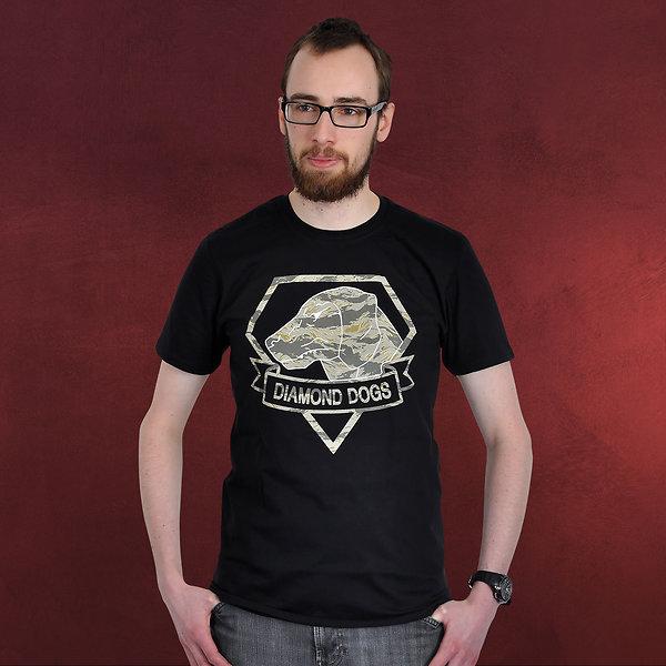Metal Gear Solid - Diamond Dogs T-Shirt schwarz