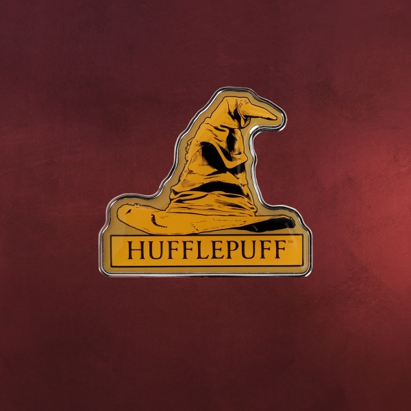 Harry Potter - Hufflepuff Sprechender Hut Pin