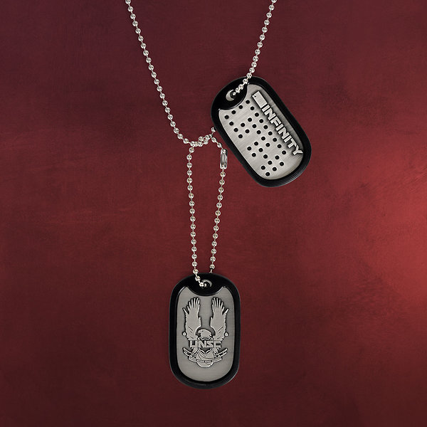 Halo 4 - UNSC Logo Dog-Tag Kette
