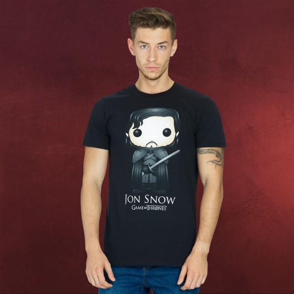 Game of Thrones - Jon SnowPop Art T-Shirt