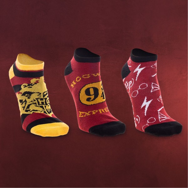 Harry Potter - Socken 3er Set