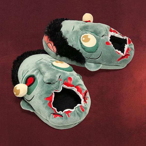 Zombie Plüsch-Pantoffeln