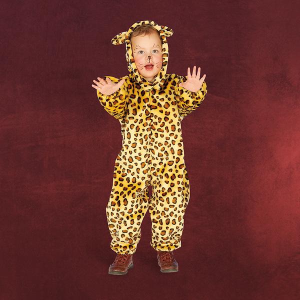 Leopard Kinderkostüm Overall