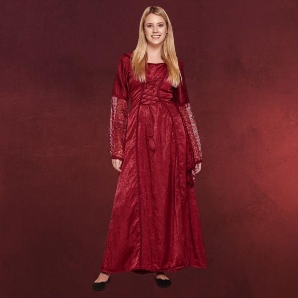 Marianna Mittelalter Kleid rot