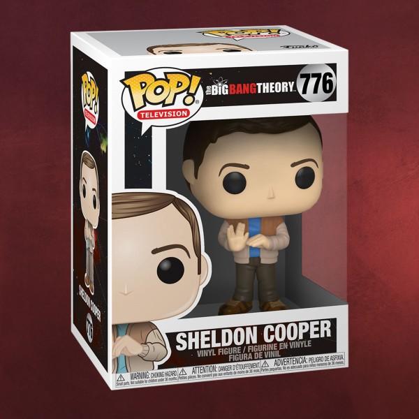 Big Bang Theory - Sheldon Cooper Vulkanier-Gruß Funko Pop Figur