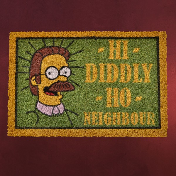 Simpsons - Hi-Diddly-Ho Neighbour Fußmatte