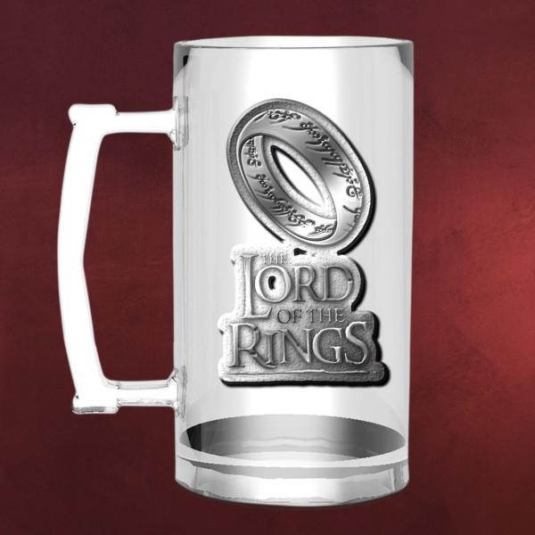 Herr der Ringe - Der Eine Ring Glaskrug