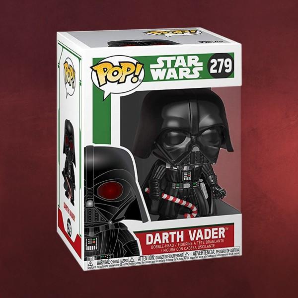 Star Wars - Darth Vader Christmas Funko Pop Wackelkopf-Figur