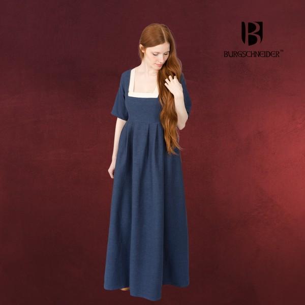 Mittelalter Kleid Frideswinde blau