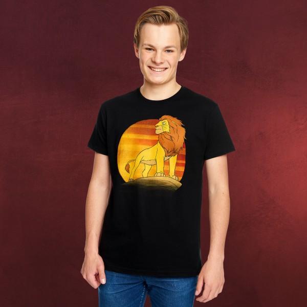 König der Löwen - Mufasa T-Shirt schwarz
