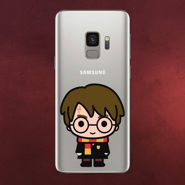 Harry Potter - Chibi Samsung Galaxy S9 Handyhülle Silikon transparent