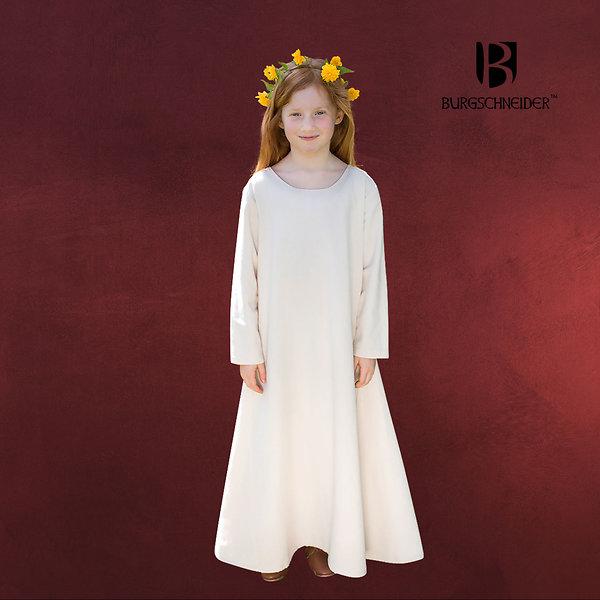 Mittelalter Kinder Unterkleid Ylvi natur