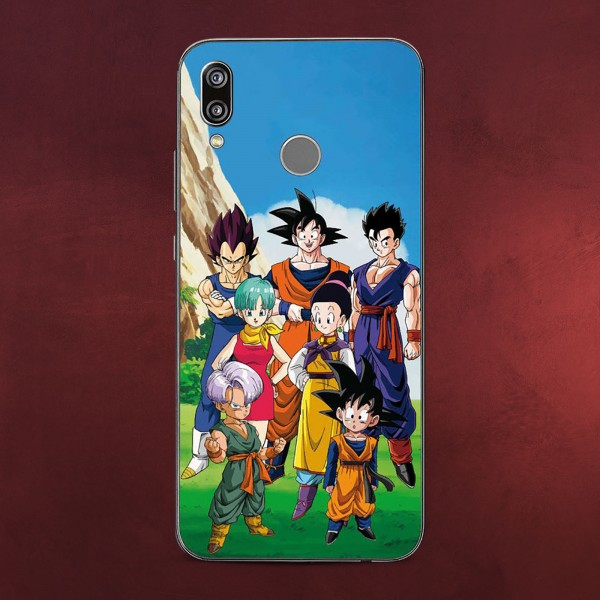Dragon Ball Z - Family & Friends Huawei P20 Lite Handyhülle Silikon