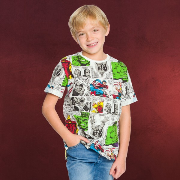 Avengers - Retro T-Shirt Kinder