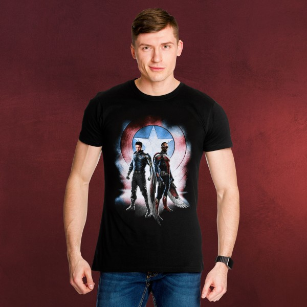 Marvel - The Falcon and the Winter Soldier T-Shirt schwarz