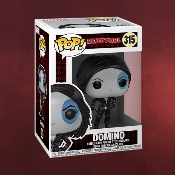 Deadpool - Domino Funko Pop Wackelkopf-Figur