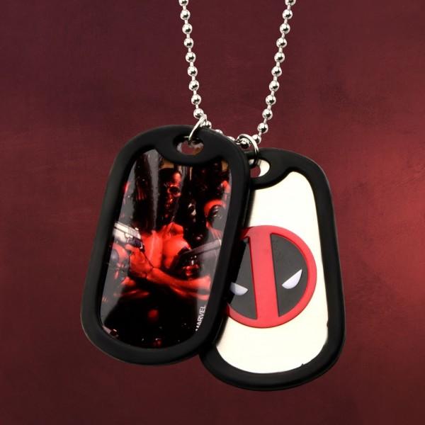 Deadpool - Graphic Logo Dog-Tag Kette