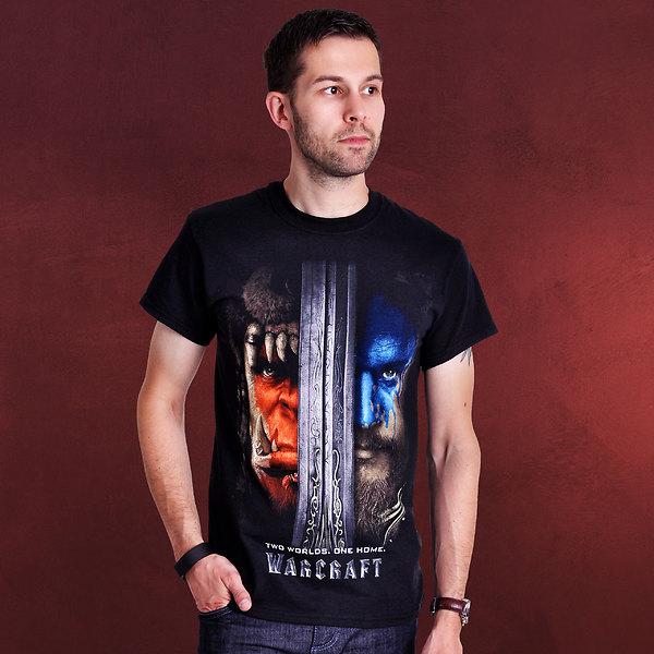 Warcraft - The Beginning Poster T-Shirt schwarz