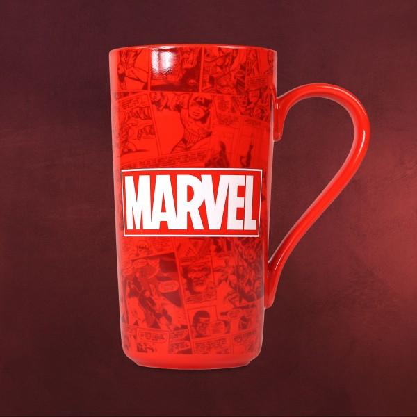 Marvel - Logo XXL Tasse rot