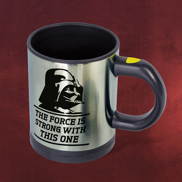 Star Wars - Vader Thermobecher mit Rührfunktion