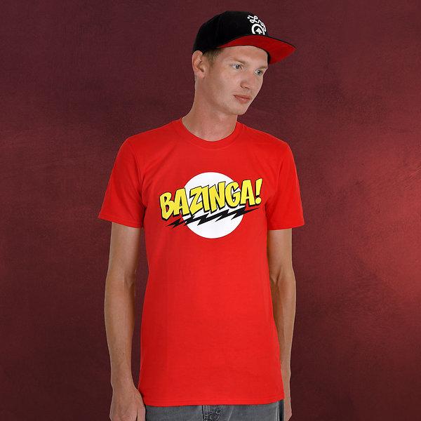 Big Bang Theory - BAZINGA! T-Shirt rot