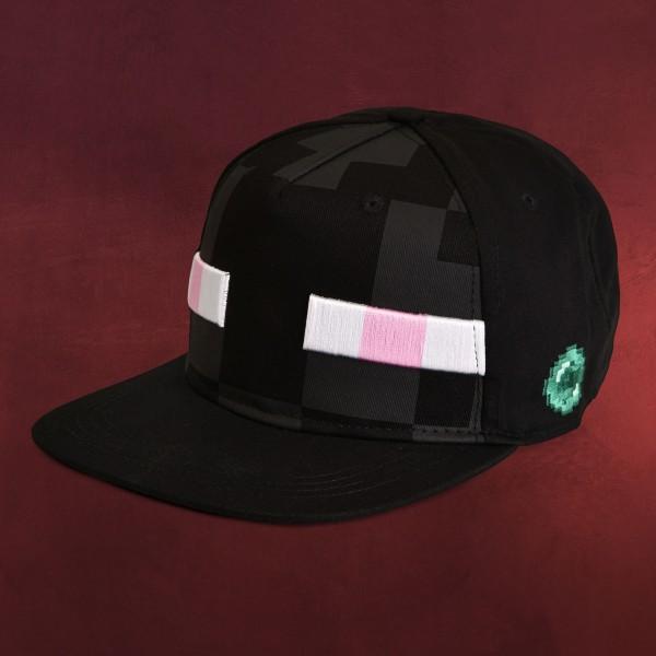 Minecraft - Enderman Snapback Cap für Kinder schwarz